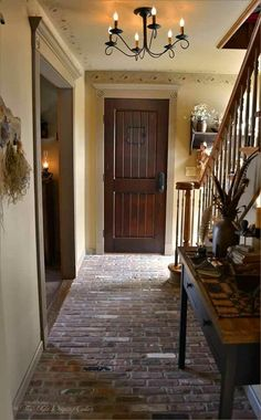 Brick entry. Photo by Old Weeping Cedar I LOVE THIS!! I think this is the coolest entryway I've ever seen!
