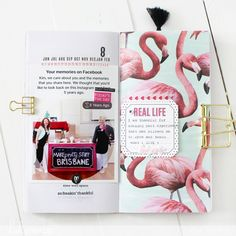 November is my birthday month and I have been working on a 21 days to be thankful journal, since my birthday falls on the I deci. Mini Scrapbook Albums, Diy Scrapbook, Mini Albums, Scrapbooking, Daily Journal, Bullet Journal, Bujo, Glue Book, Life Page
