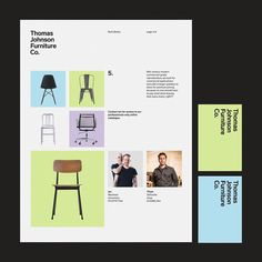 "121 Likes, 3 Comments - Nathaniel Winter-Hebert (@nathanielwinterhebert) on Instagram: ""Peek at visual identity created for Thomas Johnson Furniture Co, creating mid-century modern with a…"""