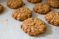 Super-healthy ANZAC biscuits - v e g g i e m a m a
