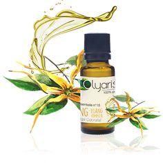L'huile essentielle d'ylang ylang d'Olyaris est utilisée comme tonique sexuel, calmante cardiaque et tonique capillaire. Elle aide aussi à retrouver l'appétit. C'est déjà ça !