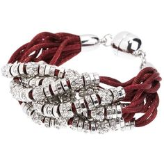 Armani Exchange Beaded Multicord Bracelet ($39) ❤ liked on Polyvore featuring jewelry, bracelets, armani exchange, cord bracelet, beaded cord bracelet, bead jewellery and beaded jewelry