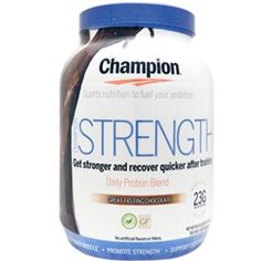Champion STRENGTH Protein Powder