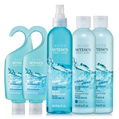 Experience an exhilarating ocean breeze with clean, cool, crisp marine notes and a hint of lime zest and frozen mint. A $38 value this set includes:2 Hydrating Shower Gels 5 fl oz.2 Body Lotions 8.4 fl oz.1 Body Spray 8.4 fl oz.