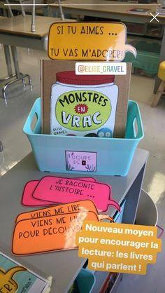 La classe de Karine: Encourager la lecture en classe Classroom Management Techniques, Class Management, Library Rules, Book Tasting, Cycle 3, Reading Workshop, Book Club Books, Book Clubs, Anchor Charts