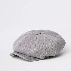 857bcd376a4 Light grey herringbone baker boy hat - Hats   Caps - Accessories - men. Baker  BoyIsland LightingHerringboneRiver ...