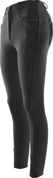 """Elegante pantalone donna equitazione Equi-thème con """"Strass"""", con tasche oblique smussati davanti e tasche sul retro, impreziosite con 3 strass."""