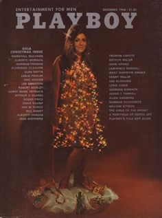 A Pictorial History of the Playboy Gala Christmas Issue: Kim Kadarshian, Barbi Benton, Isaac Bashevis Singer, Alberto Moravia, Erika Eleniak, Playboy Enterprises, Playboy Logo, Anna Nicole, Backgrounds
