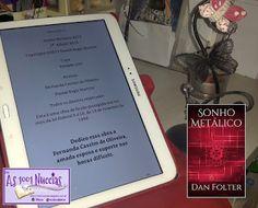 As 1001 Nuccias: Resenha [conto] - Sonho Metálico, de Dan Folter