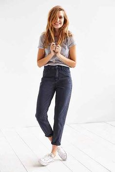 """The Mom Jean @ Urban Outfitters  - What do you think? Should the """"mom"""" jean come back?"""