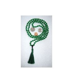 A personal favorite from my Etsy shop https://www.etsy.com/listing/214092066/green-black-agate-onyx-mala-beads # 108 knotted green agate mala beads necklace # handmade green agate mala beads