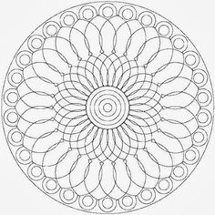 Adult Coloring, Coloring Pages, Mandala Coloring, Diy Crafts, Draw, Facts, Beautiful Drawings, Free Coloring, Shapes