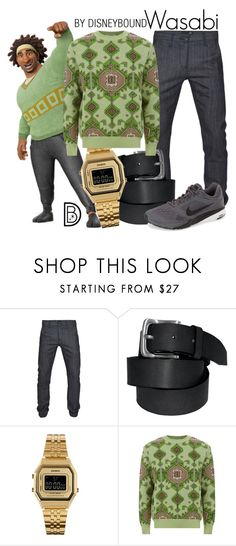 """""""Wasabi"""" by leslieakay ❤ liked on Polyvore featuring 3x1, Casio, Givenchy, NIKE, women's clothing, women, female, woman, misses and juniors"""