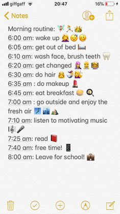 A motivational morning routine for you guys! I hope this makes you r morning routine more productive and helpful! School Routine For Teens, Morning Routine School, Healthy Morning Routine, School Routines, Life Hacks For School, High School Hacks, Beauty Routine Checklist, Routine Planner, Beauty Routines