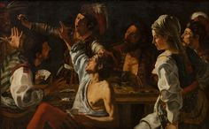 Card and Backgammon Players by Theodoor Rombouts (1597-1637)