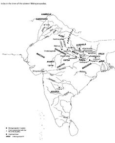 India 500 BC India World Map, India Map, History Of India, Ancient History, Historical Maps, Archaeology, Psychology, Period, Study