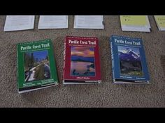 ▶ Pacific Crest Trail 2010 Preparation - Video #2 Maps - YouTube. He has good trip organization-especially maps and resupply organization of guides