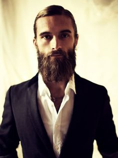 #handsomesauce #beards. Bearded style and sophistication.