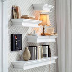 Whitehaven Mahogany Floating Wall Shelf (4 Sizes) - - Wall Shelf - NovaSolo - Space & Shape - 4