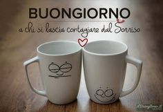 Buongiorno a chi. Face Mug, Good Morning Coffee, Coffee Time, Mugs, Tableware, Hotels, Blog, Beautiful, Pink