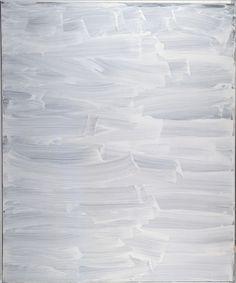 Rue Réaumur 2 by Bertrand Lavier Ink thrown on canvas, 2000 Musée d'Art Moderne de la ville de Paris