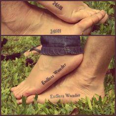 """Les Miserables tatoo"" - LOVE IT!!!"