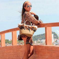 Una soleada tarde de verano, ideal para ir a la playa o simplemente pasear. Como @kissmylook, luciendo su bolso Bissú. ¡Maravilloso look! #moda #bolsos #outfit #fashion #bag #backpack #instafashion #complements #accessories #outfitoftheday #accesorios #HashTags #beautiful #beauty  #nuevatemporada #outfit #trendy