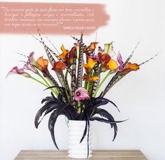 Tenha um arranjo lindo no inverno. Veja como: http://casadevalentina.com.br/blog/detalhes/seu-arranjo-lindo-no-inverno-2919 #decor #decoracao #details #detalhes #interior #design #idea #ideia #flowers #flores #casadevalentina
