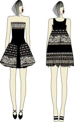 Ikat dress from Savu Island by Ivonne