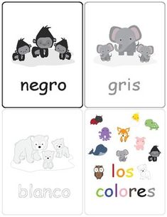 Colors in Spanish ~ Los Colores ~ Flash Cards ~ Match Up Game Print and laminate these cute color flash cards. These flash cards are designed for children who are learning the color names in Spanish. Can also be used as a Match Up Game. Spanish Names, Spanish Worksheets, Up Game, Teaching Materials, Spanish Language, Color Names, Games, Learning, Children