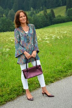 Annette's Boho Classic look.