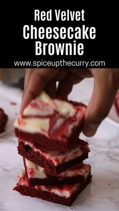 Red Velvet Cheesecake Brownies, Eggless Baking, Baking Cakes, Valentine Treats, Chocolate Brownies, No Bake Cake, How To Make Cake, Baking Recipes, Shake