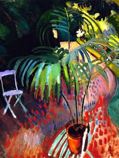 Raoul Dufy, The Little Palm Tree