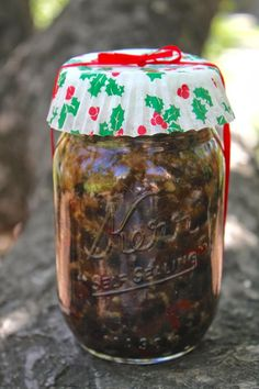 Christina's Cucina: Mincemeat Filling for Pies ~ Make it Now for Christmas Gifts in December