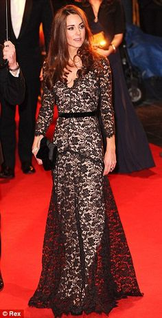 Duchess Catherine is STUNNING in this Temperley gown!