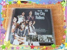 2CD-doppel-CD-Bay-City-Rollers-Best-of-Original-Artist-Songs-TOP