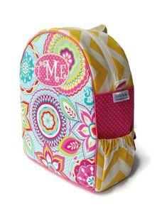 Personalized Toddler Backpack, Girls Backpack, Preschool Backpack, Quilted Backpack, Pink Backpack, Book Bag, Tote Bag, Diaper Bag on Etsy, $45.00