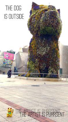 "Gatochino @Guggenheim Bilbao XHBTN  ""doggy style"""