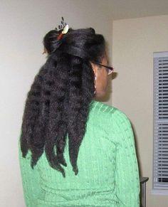 long hair, natural hair, and kinky hair image