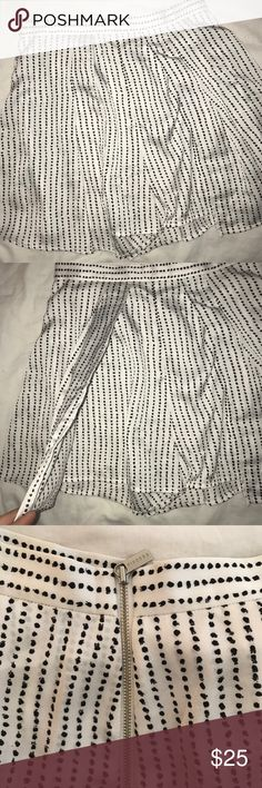 Finders Keepers Flowy Shorts NEVER WORN, NWOT, PERF CONDITION. Finders Keepers flowy Shorts. Cool spotted pattern. Zipper closure in the back. Finders Keepers Shorts