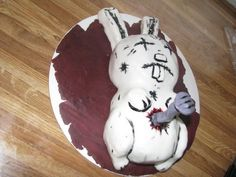 Nail Bunny- From the Johnny the Homicidal Maniac comic book series.  Cake by ErikaLynn