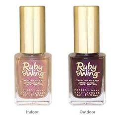 Ruby Wing Sweet Cream Color Changing Nail Polish