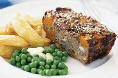 Pumpkin And Leek Nut Roast Recipe - Taste.com.au