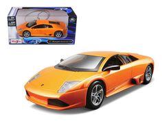 Lamborghini Murcielago LP640 Orange 1/24 Diecast Model Car by Maisto