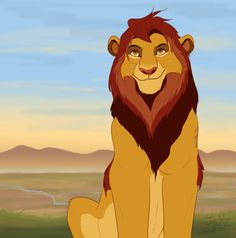 How adult Kion might look