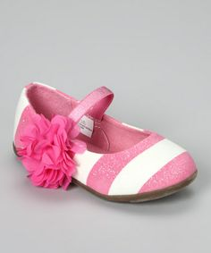 Take a look at this Pink Delilah Flat by OshKosh B'gosh on #zulily today!
