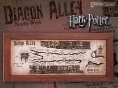 Mapa Harry Potter. Mapa del callejón Diagon