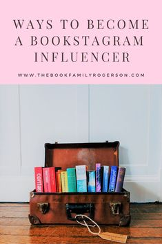 A selection of ways to get involved with influencing on bookstagram - includes tips for requesting review copies, finding influencer platforms, looking out for book rep opportunities and pitching to brands #bookstagram #influencermarketing #influencerinst