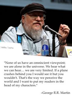 12 Lessons George R.R. Martin Has Taught Us About Writing Happy birthday, George. Here's to many more. Seriously, many, many more. You've...