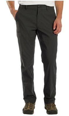 UB TECH Men's Size 34 x 30 Lightweight Comfort Travel Tech Chino Pant, Charcoal